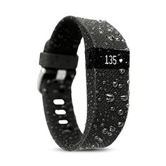 Amazon.com : Waterfi Waterproofed Fitbit Charge HR Wireless Activity Tracker with Heart Rate Monitor : Sports & Outdoors