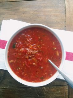 Roasted Tomato Gazpacho