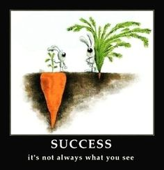 Right??? #Success is definitely not always obvious... Keep going! http://ift.tt/1lFZvm1  #quotes #successquotes #entrepreneur by aprilmarietucker
