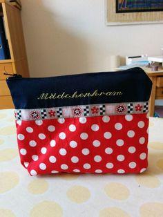 Mädchenkram-Tasche mit Zipp für die Handtasche Lunch Box, Bags, Handbags, Bento Box, Bag, Totes, Hand Bags