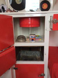 Vintage Caravan Interiors, Wall Oven, Kitchen Appliances, Home, Diy Kitchen Appliances, Home Appliances, Appliances, Ad Home, Homes