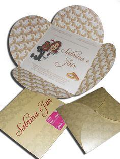 Convite de Casamento Especial 08