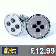 Smarten up with these #playstation cufflinks from Numskull Designs  www.gamesyouloved.com