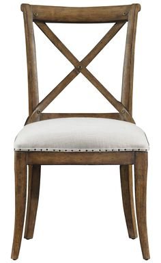 European Farmhouse Fairleigh Fields Guest Chair by Stanley Furniture