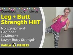 * 13 Minute LEG + BUTT HIIT | Countdown to Christmas (The Festival of HIITs) Watch VIDEO here: http://howtoloseweight.solutions/13-minute-leg-butt-hiit-countdown-to-christmas-the-festival-of-hiits    ❤ 20 Minute Workout Plan ❤ Try ONE WEEK FREE: S U B S C R I B E Support Pahla B on PATREON This is the Countdown to Christmas (The Festival of HIITs) – 24 days of fast workouts for busy people! And today, this is BUTT! We are working on a handful of unilateral strengt