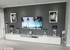 Living Room Wall Units, Dark Living Rooms, Living Room Tv Unit Designs, Living Room Decor Cozy, Cottage Living Rooms, Elegant Living Room, New Living Room, Home Room Design, Home Decor
