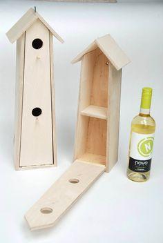 Ook leuk: mussenflat, te gebruiken om een fles wijn cadeau te doen. Het tussenschotje kan verwijderd worden, zodat de fles er mooi in past Mooi bedacht door onze producenten van Trajectum!