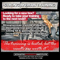 strongman training