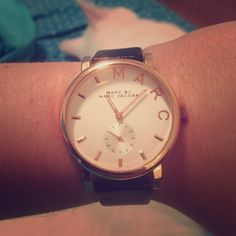 Marc by Marc Jacobs black watch OBO Marc by Marc Jacobs black watch OBO Marc by Marc Jacobs Accessories Watches