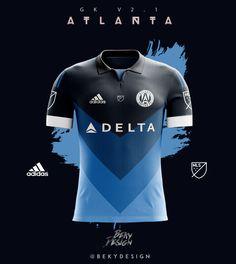 T-shirts concept for Atlanta United FC 16/17 season.