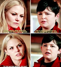 """#OnceUponATime 4x17 """"Best Laid Plans"""" - Emma and her mother"""