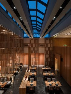Kioku, was designed by André Fu to bring the essence of a 'modernist bamboo theatre' to the space. It epitomises Fu's trademark aesthetic for relaxed luxury, offering a holistic Japanese dining…