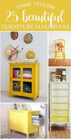 Diy Yellow Furniture, Repurposed Furniture, Shabby Chic Furniture, Design Furniture, Diy Furniture, Modern Furniture, Automotive Furniture, Automotive Decor, Plywood Furniture