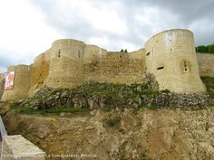 The impressive castle of William the Conqueror in Falaise, France. An unexpected joy to visit. http://www.romantic-vacations-guide.com