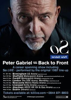 Peter Gabriel UK Tour 2014