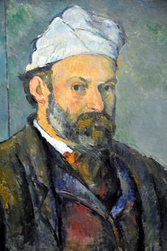 Paul Cézanne - Self Portrait 1880 at Neue Pinakothek Munich Germany by mbell1975, via Flickr