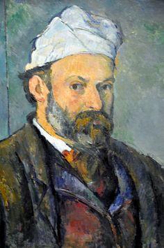 Paul Cézanne - Self Portrait 1880 at Neue Pinakothek Munich Germany