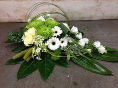 Casket Flowers, Grave Flowers, Cemetery Flowers, Church Flowers, Funeral Flowers, Creative Flower Arrangements, Funeral Flower Arrangements, Ikebana Flower Arrangement, Floral Arrangements