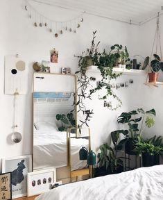 Home Decor Scandinavian .Home Decor Scandinavian Cute Room Ideas, Cute Room Decor, Room Ideas Bedroom, Bedroom Decor, Bedroom Bed, Bedrooms, Bedroom Inspo, Quirky Bedroom, Cosy Bedroom