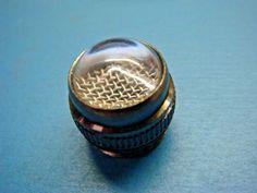 (1) DIALIGHT 222-0137-203 CLEAR PMI CAP BLACK NICKEL T-3 1/4 MINI BASE  #Dialight