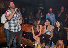 Supportive: Kourtney Kardashian has stood by her partner of eight years; seen above, they ...