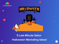 """Did you know? Halloween is the second holiday of the year after Christmas where most people spend their money🎯 If you're not taking advantage of the holiday's revenue potential with your Salon, now is the time to start. Click on the below link to know about """"5 Last Minute Salon Halloween Marketing Ideas!"""" #salon #spa #software #marketing #ideas #halloween #salonsoftware #beautysalon #holiday #salonmanagementsoftware Salon Software, Last Minute, Marketing Ideas, Salons, Holiday, Christmas, Spa, Money, Halloween"""