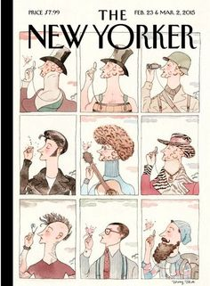 February 23 & March 2, 2015 - Barry Blitt - One of nine covers for the 90th anniversary issue