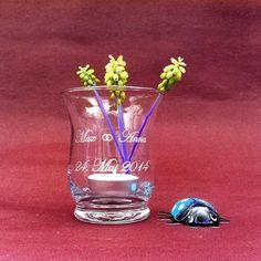 Windglas mit individueller Gravur