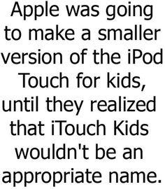 Apple Program Fail.... iTouch Kids  http://fotfl.com/?p=2655