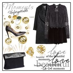 """""""Party Nights"""" by fashionscherry ❤ liked on Polyvore featuring H&M"""