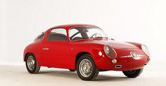 1960 Abarth Fiat 750 Zagato Record Monza (via HellenicMotorMuseum)