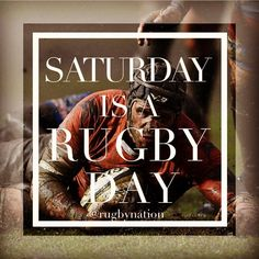 """256 Likes, 1 Comments - Rugby Nation (@rugbynation) on Instagram: """"#SaturdayIsARugbyDay #Rugby #"""""""