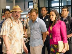 Dexter Boss Discusses the Impact of Deb's Deadly Choice, Plus: Who'll Be Back in Season Debra Morgan, Dexter Morgan, Dexter Seasons, Michael C Hall, Natalie Morales, Showtime Series, Six Feet Under, Peplum Blazer, Outfits Hombre