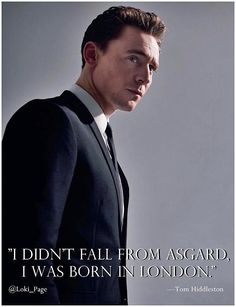Good to know! I lived with that doubt. ehehe! #TomHiddleston #Loki pic.twitter.com/Y1LbcgRFjf