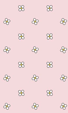 Gives me that Hello Kitty/Miffy vibe Wallpaper For Your Phone, Kawaii Wallpaper, Pastel Wallpaper, Flower Wallpaper, Screen Wallpaper, Cute Backgrounds, Wallpaper Backgrounds, Iphone Wallpaper, Iphone Backgrounds