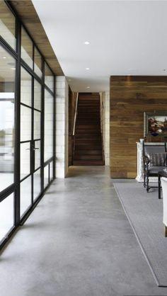 flooring concreto pulido Geschliffener Estrich in edler Optik
