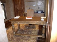 office desk - traditional - home office - phoenix - All Wood Treasures