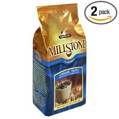 Millstone Caramel Truffle Ground Coffee, 12-Ounce Packages (Pack of 2),$24.88