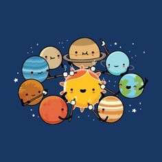 Shop graphic tees, artwork, iphone cases, and more designed by the worldwide Threadless community. Funny Doodles, Cute Doodles, Cute Jokes, Funny Puns, Cute Comics, Funny Comics, Planet Drawing, Funny Comic Strips, Cute Cartoon Drawings