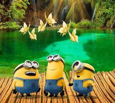 Minions for world domination Syafiqah