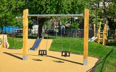 We offer a wide range of playground swings made from naturally durable hardwood. Our swings are suitable for all ages and abilities. Playground Swings, Cross Beam, Sims 4 Cas, Swing Seat, Technical Drawing, Galvanized Steel, Patio, Minecraft Ideas, Outdoor Structures