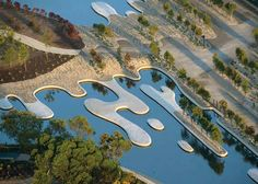 Jardín botánico, creado de la nada dentro de una antigua cantera en Australia. Primer premio del World Architecte Festival 2013