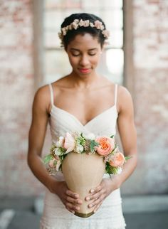 swoon worthy floral crown!