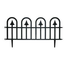 H x 2 ft. W Polyester Resin Fence Panel Decorative Fence Panels, Metal Fence Panels, Garden Fence Panels, Iron Fence Gate, Wrought Iron Fences, Metal Garden Edging, Lawn Edging, Outdoor Fencing, Outdoor Screens