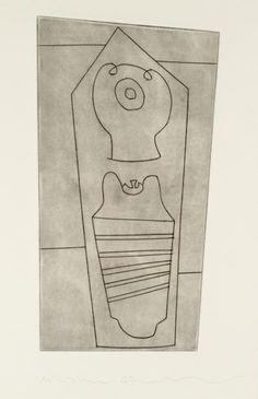 Ben Nicholson OM 'Turkish form', 1967 © Angela Verren Taunt 2015. All rights reserved, DACS