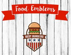 """Check out new work on my @Behance portfolio: """"Food Emblems."""" http://be.net/gallery/31682253/Food-Emblems"""