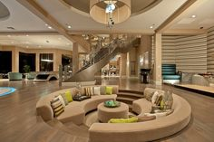 Sunken Designs living room