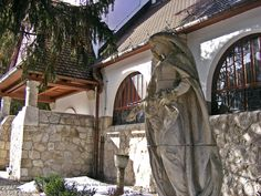 The Statue of St. Elizabeth by the R.C.Church