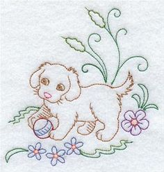 Machine Embroidery Designs at Embroidery Library! - Bedtime Borders &…