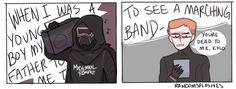 """art by randomsplashes """"tfw the emo asshole blasts mcr all over the finalizer and ur contemplating whether or not to murder him:"""""""